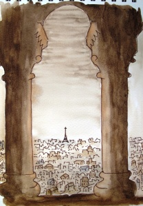 Paris city scape #2